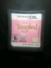 Nintendo DS Tangled game