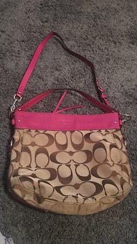 Brand new pink and brown coach purse  Salinas, 93906
