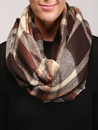 Beautiful Plaid Infinity Scarf LAUREL