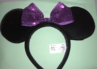 Disney Ears purple bow Anaheim, 92802