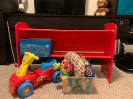 Baby toys and storage