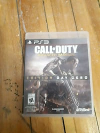 Call of Duty Advanced Warfare PS3 game case Montréal, H4A 3A4