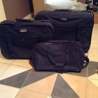 Two black soft-side luggage Hamilton, L8T 2S4