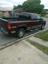 red extra cab pickup truck Brownsville, 78521