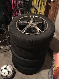 RTX summer rims+tires Barrie, L4N 8P1