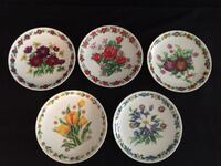 Royal China Japonica Plate Set of 5 Made in Japan BNWOB Vancouver