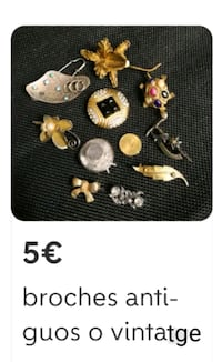 Broches antiguos o vintage  Barcelona, 08038