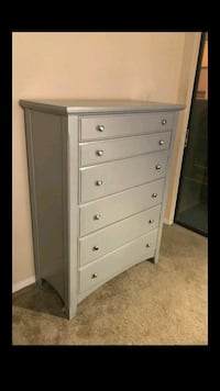 Well made dresser refinished in color GRAY. 40inch Dallas, 75230