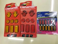 3 new packs of reflectors  Throop