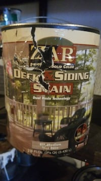 Zar deck and fence stain, 2 gallons