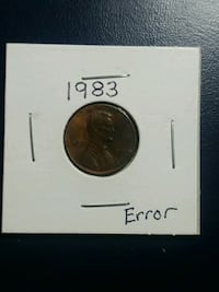 1c error coin Simi Valley, 93063