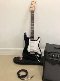Squier by Fender Bullet Strat Guitar and Amp Miami, 33125