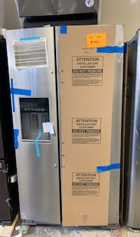 Whirlpool stainless steel side by side refrigerator new  Bowie, 20715
