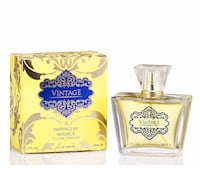 Brand new vintage inspired by Versace yellow diamond parfum 80ml