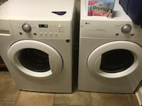 white LG front-load washer and dryer set Brentwood, 37027