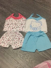 3-6 mos 2sets of short and tops Kitchener, N2R 0A6