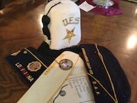 Old club hats with pins on hat vintage all for $25.00 all Harahan, 70123
