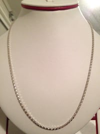 Great price great necklace great shine , 925 Italian silver chain Langley