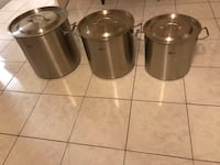 Stainless Steel pots brand new Vaughan