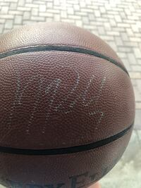 black and brown basketball with signature Orlando, 32832