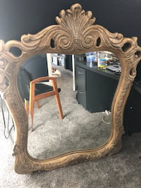 Hand crafted wood mirror Denver
