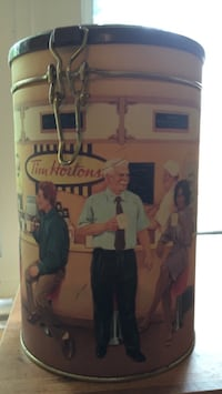 Tim Horton's collector tin