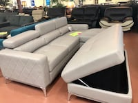 Brand new leather sectional with storage Ottoman  Camas, 98607