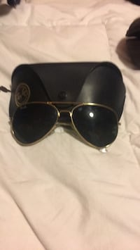 silver framed Ray-Ban aviator sunglasses Cambridge, N1T 1P7