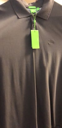 Men's Boss Shirt Grey Size 2X (Brand New) Washington, 20011