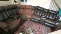 Couch w/ 3 recliner Frederick, 21701