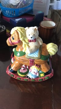 beige bear on brown horse figurine Woodbridge, 22193