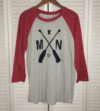 "SOTA Clothing Co. ""The Ballpark Raglan"" Sz Large Richfield, 55423"