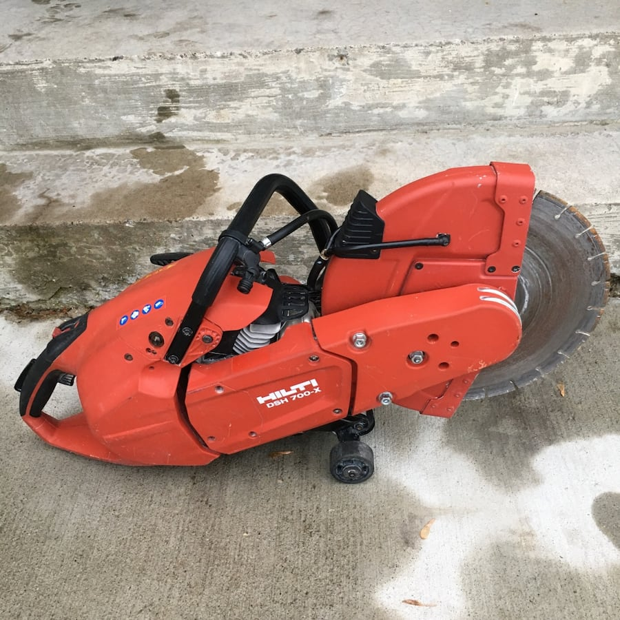 "Hilti 14"" concrete saw"