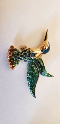 Hummingbird pin with box