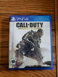 PS4 GAME CALL OF DUTY Germantown, 20876