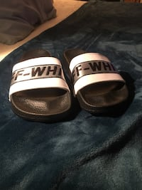 NEW Off white slides