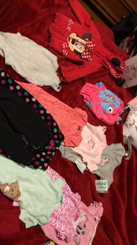 Baby 6-12month clothes 11 piece variety