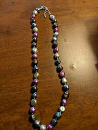 Multicolour Pebble Necklace  Sherwood Park, T8A 2M5