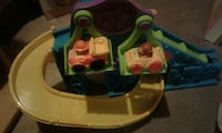 Toddler track with 2cars