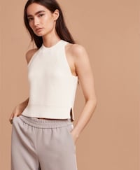 wilfred crevier knit top - small