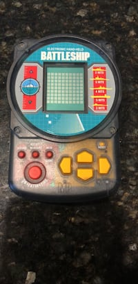 Handheld electronic battleship game Shenandoah Junction, 25442