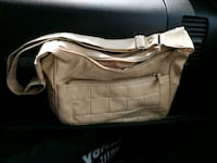 white and brown leather shoulder bag Edmonton, T5H 3B4