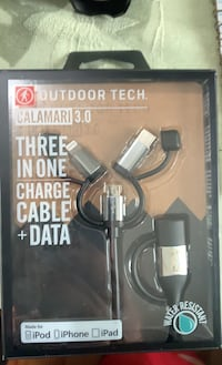 Outdoor tech Three in One Charger Cable Middletown, 10940