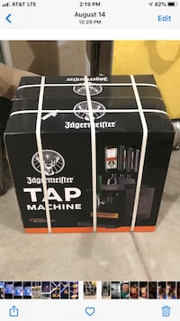 New jagermeister 3 bottle tap machine, never opened. Omaha, 68022