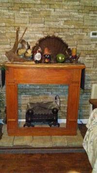 Fireplace with electric logs Rock Hill