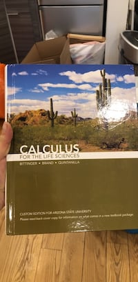 Calculus for the life sciences text book New York, 10014