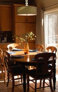 Canadian Maple Dining Room Set
