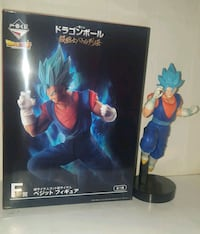 Figura vegetto blue cubriendose