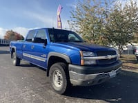 2004 Chevrolet Silverado 2500 HD Crew Cab for sale Dallas