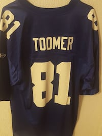 New York Giants jersey size large and Xl